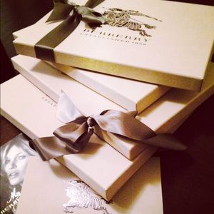 Burberry boxes for sale